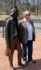 Thomas Jefferson and I.