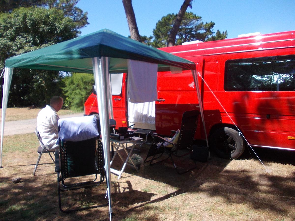 Camp at moténo